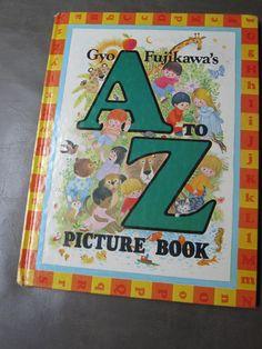 Vintage A to Z picture book by Byo Fujikawa by happykristen