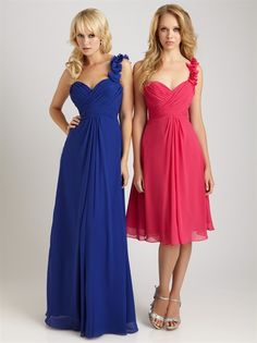 Google Image Result for http://meetangel.com/content/images/thumbs/0000344_chiffon_one_shoulder_bridesmaid_dress_royal_blue_bridesmaid_dresses.jpeg .... I likr shorter one but in blue
