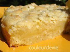 Gâteau citron crumble