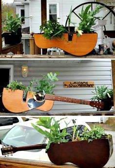 15 Clever Ways To Repurpose Old Guitars | Home Design And Interior
