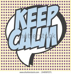 keep calm background, illustration in vector format
