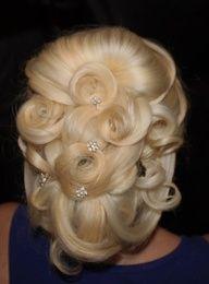 #wedding Hair for long hair