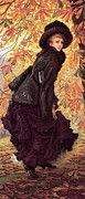 "New artwork for sale! - "" Tissot October by James Jacques Joseph Tissot "" - http://ift.tt/2oVd9La"