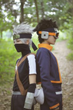 Embedded  Kid Kakashi and Obito cosplay ❤ ℒℴvℯly
