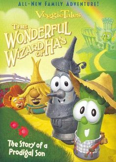 VeggieTales The Wonderful Wizard Of Ha's Veg-O-Rama Jukebox Sing Along Songs Vol 1 Christian Films, Dog Tutu, Sing Along Songs, Disney Rooms, Veggietales, Prodigal Son, The Good Witch, Fathers Love, About Time Movie