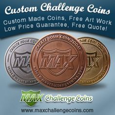 There are different type of sports Challenge Coins are available in the market. These coins are according to the game like cricket , basketball , Tennis , Baseball , Rugby, Snooker etc.