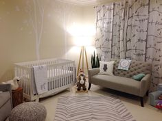 Neutral Safari Themed Nursery - #genderneutral