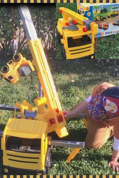 Toy Crane, Outdoor Toys, Kids Toys, Trucks, Children, Collection, Childhood Toys, Young Children, Boys