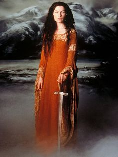 Morgaine Le Fay (Julianna Margulies) The Mists of Avalon (2001)  http://www.imdb.com/title/tt0244353/ & http://24.media.tumblr.com/3a2fe1090440cc68bbce1c673ed9ff26/tumblr_mgvbh8uuPw1rmy553o1_500.png  .:.  .:. see also:  http://snow.Energy526.com  #Castle #orange #morgaine #margulies