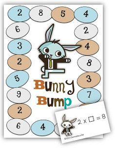Math Coach's Corner: Missing Factor Freebie. This Bump game focuses on the 2s, 4s, and 8s.  These facts are all connected by the doubling strategy.