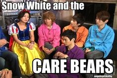 Is that Onew in a snow white dress....