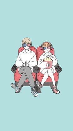 Sougo Okita x Kagura [OkiKagu], Gintama Manga Anime, Art Anime, Anime Couples Manga, Cute Anime Couples, Cute Couple Art, Anime Love Couple, Kawaii Anime, Gintama Wallpaper, Anime Friendship