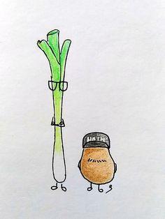 Lauch-Joko und Kartoffel-Klaas