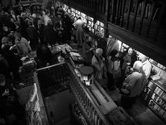 Inside Daunt Books at the Launch