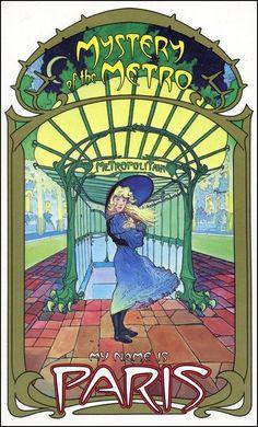 Michael W. Kaluta My Name is Paris by Elizabeth Howard Published by Byron Preiss/Random House ~ 1987 Teen Series, Book Series, Paris Illustration, Art Nouveau Poster, Book Sculpture, Commercial Art, Paris Ville, Vintage Paris, Comic Book Artists