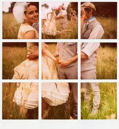 Love this! Polaroid collage <3