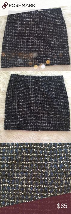 J. Crew Mini Skirt Gorgeous NWT J.Crew mini skirt in perfect condition! Would look adorable with a chunky cream sweater. 12.5gfd52 J. Crew Skirts