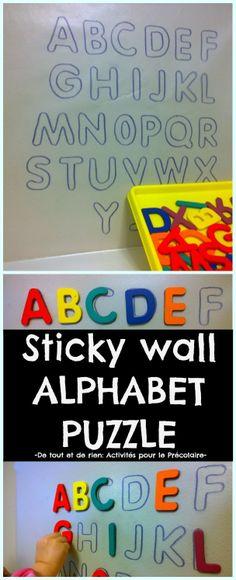 Sticky Wall ABC's