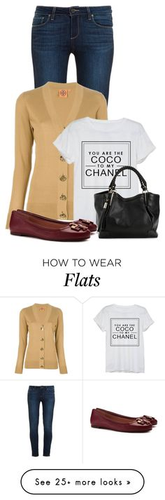 """""""Untitled #11191"""" by nanette-253 on Polyvore featuring moda, Paige Denim, Tory Burch e Chanel"""