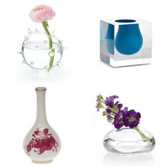 The prettiest bud vases.