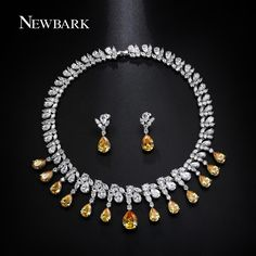 NEWBARK Luxury Jewelry Sets Classic White Gold Plated Yellow AAA+ CZ Parure Bijoux Femme Bridal Set Accessories     Tag a friend who would love this!     FREE Shipping Worldwide     Buy one here---> http://jewelry-steals.com/products/newbark-luxury-jewelry-sets-classic-white-gold-plated-yellow-aaa-cz-parure-bijoux-femme-bridal-set-accessories/    #hoop_earrings