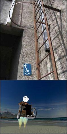 Acceso para discapacitados