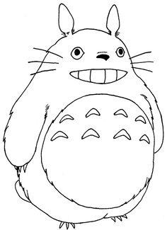 totoro drawing - Google Search | For the kiddos ...
