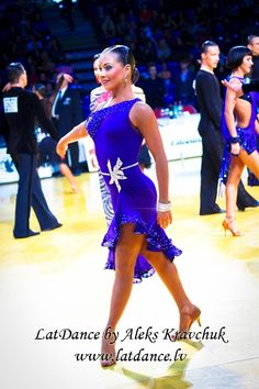 royal blue latin ballroom dance dress