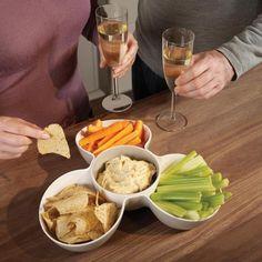 Perfect for parties...the Joseph Joseph Triple Dish™.