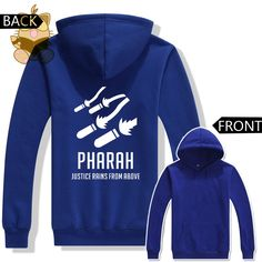 GAME fans warm costume hot watch over game character  PHARAH JUSTIC RAIN FROM UBOVE  hoodies AC218