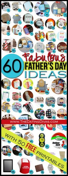 Father's Day ideas!