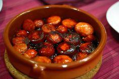 chorizo a la sidra. Tipico de Asturias, España.jpg