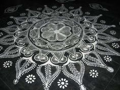 Festivities are a part of the Indian culture and so is rangoli. Here are 25 amazing rangoli designs with dots that will blow your mind this 2019 Rangoli Patterns, Rangoli Designs With Dots, Rangoli Designs Images, Mehndi Designs, Beautiful Mehndi Design, Beautiful Rangoli Designs, Mandala Design, Mandala Art, Interior Design London