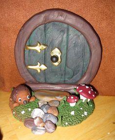Tutorial: How to make Polymer Clay Hobbit Doors - #cernit