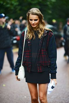 Street Chic London Fashion Week Spring 2014 #tilda lindstam