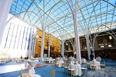 Indianapolis Library Wedding