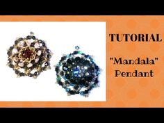 "Tutorial: come realizzare un ciondolo ""Mandala"" con le pip - YouTube"