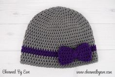 Charmed By Ewe | Wrapped With Love Hat Free Pattern ༺✿Teresa Restegui http://www.pinterest.com/teretegui/✿༻
