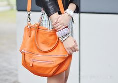 Givenchy Pandora Grainy Across–Body Bag