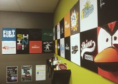 Every youth pastor has a huge collection of t-shirts, right? Here's a cheap and creative way to turn those t-shirts into some amazing decor for your office.