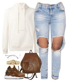 """1359 . Futur Hoodie"" by cheerstostyle ❤ liked on Polyvore featuring Futur, Coach, NIKE and Gucci"