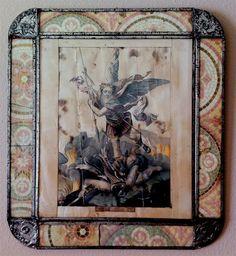 Santa Fe Style, Tin Art, New Mexican, Online Gallery, Folk Art, Vintage World Maps, Presents, Texas, Painting