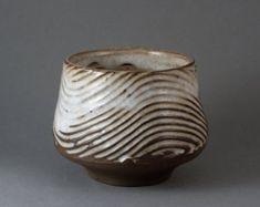 "Ceramic Coffee cup, Espresso cup, Dark Clay and White Glaze, Yunomi or Tea bowl "" Coffee and Cream"" by Paul Fryman"