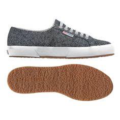 buy online 889d5 37874 Espadrilles Détentes, Chaussures De Sport Mode, Caoutchouc, Laine, Superga  Chaussures, Textiles