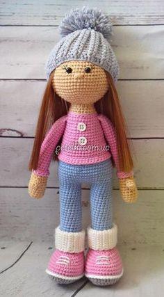Вязаная куколка Стеша. Описание