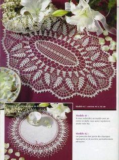 Irish crochet &: CROCHET DOILY ... САЛФЕТКИ КРЮЧКОМ