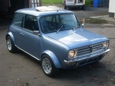 Mini Clubman 1275 GT. The Clubman frontal treatment never really caught on, and was phased out in favour of the traditional style after just a few years.