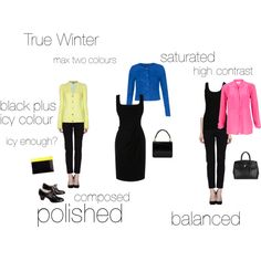 True Winter - an excercise, created by silverwild on Polyvore