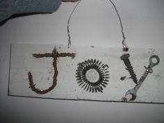 Upcylcled Tool Art