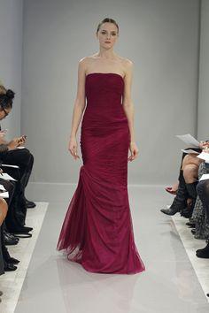 Monique Lhuillier Bridesmaids Dress - Fall 2013